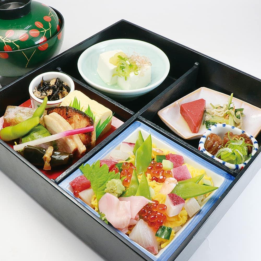 5月限定メニューからご紹介!ちらし寿司弁当! #天山の湯 #ちらし寿司 #限定メニュー #京都